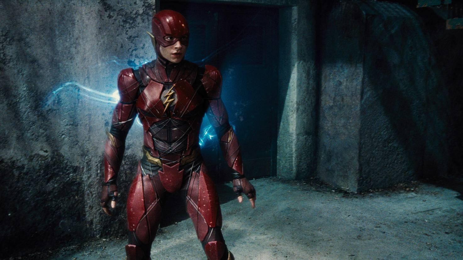Ezra Miller als The Flash in Justice League