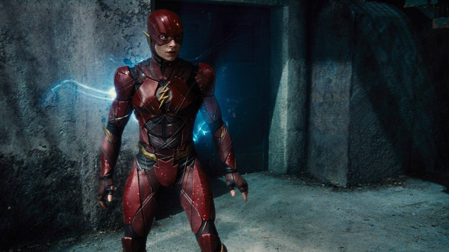 Ezra Miller als The Flash in Justice League