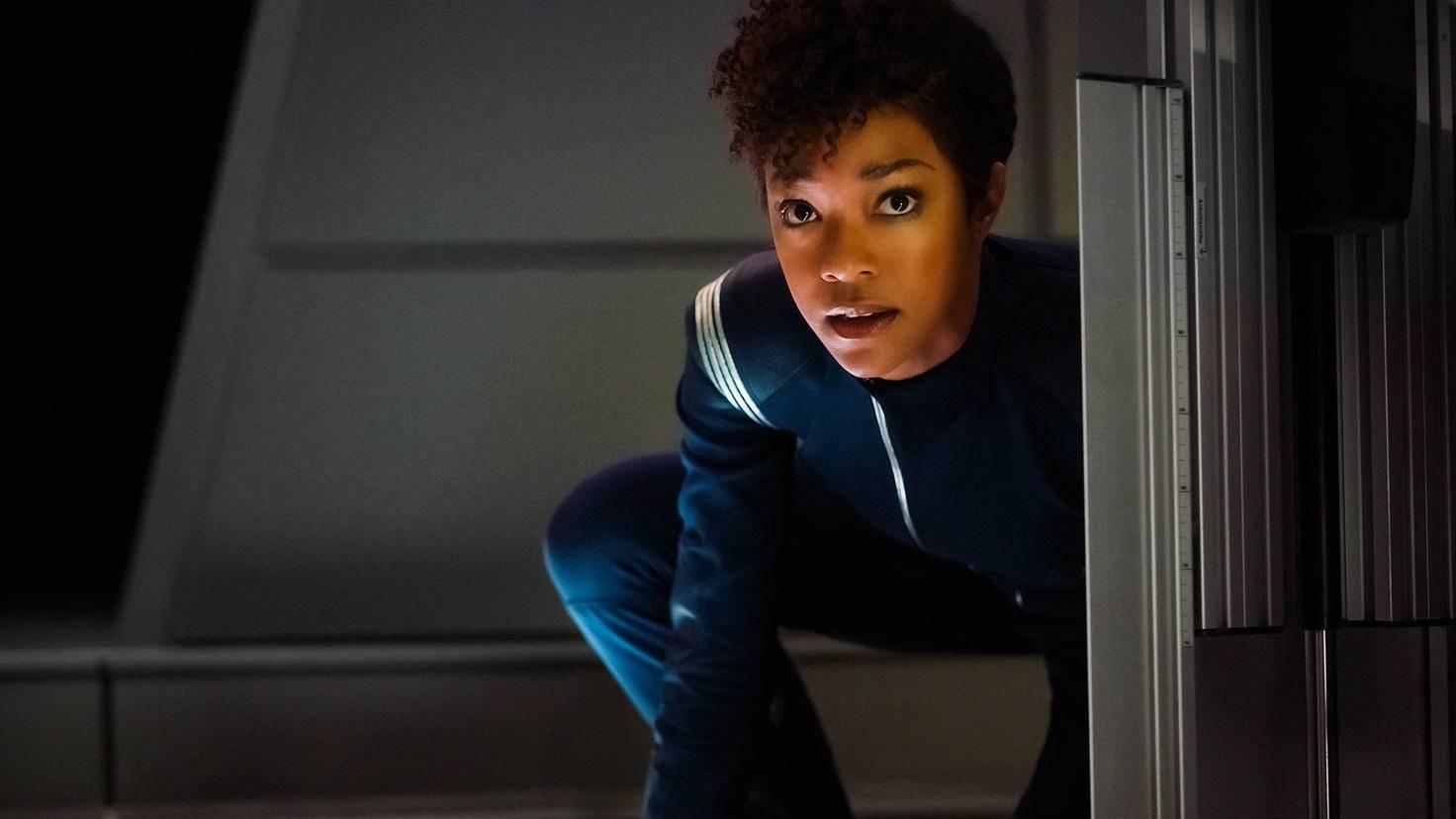 """Star Trek: Discovery""-Szenenbild, Michael Burnham (Sonequa Martin-Green).."