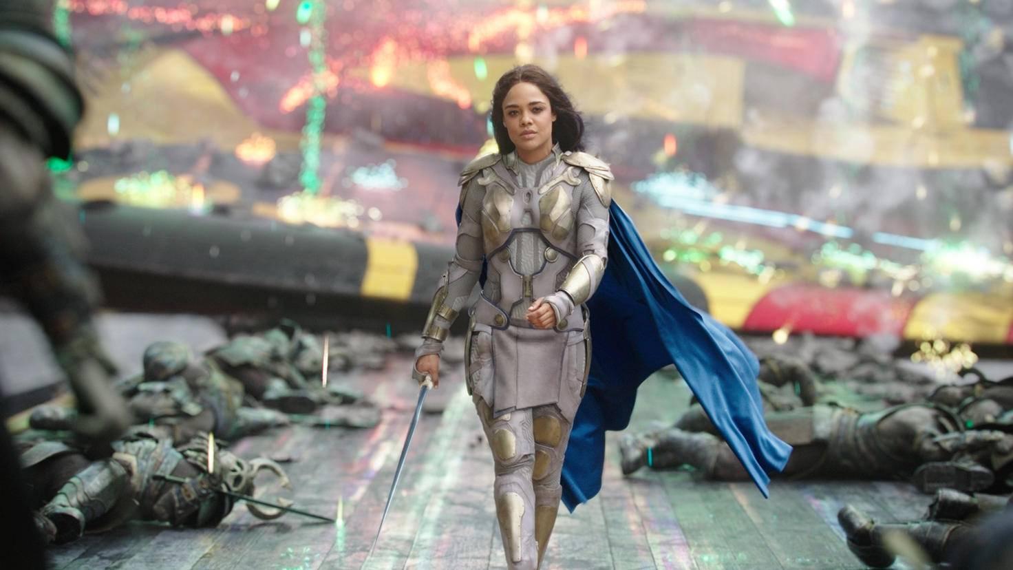 """Tessa Thompson als Valkyrie in """"Thor 3: Tag der Entscheidung"""""""