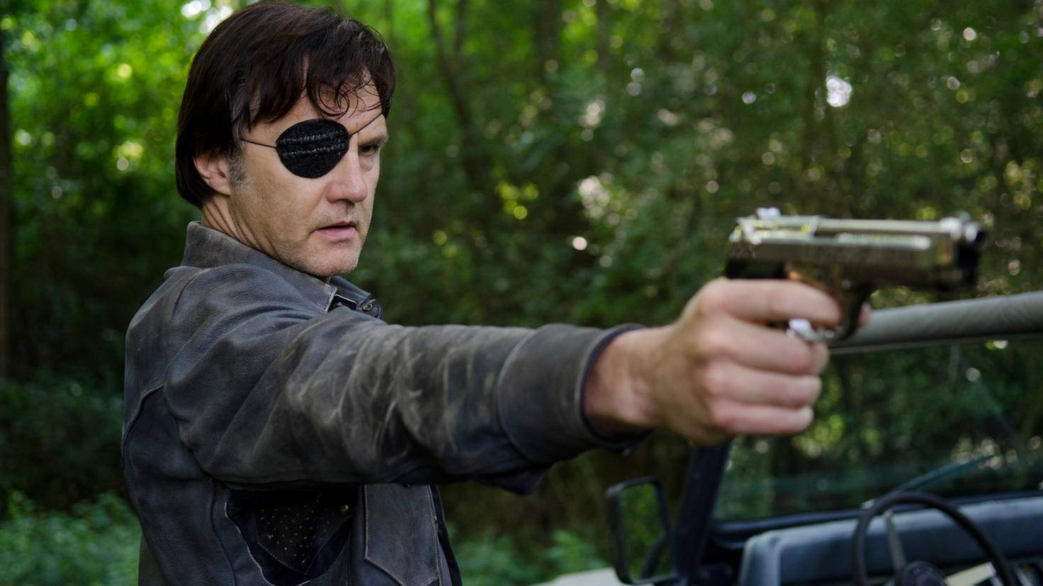 The Walking Dead-Governor-David Morrissey-Gene Page-AMC-TWD_408_GP_0730_0126