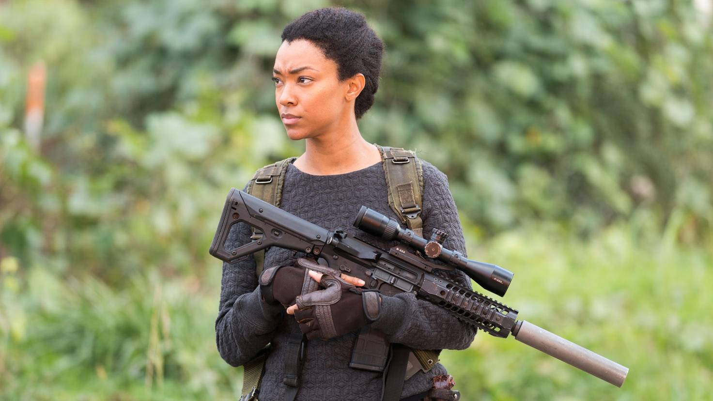 The Walking Dead-Sasha-Sonequa Martin-Green-Gene Page-AMC-TWD_616_GP_1116_0103-RT