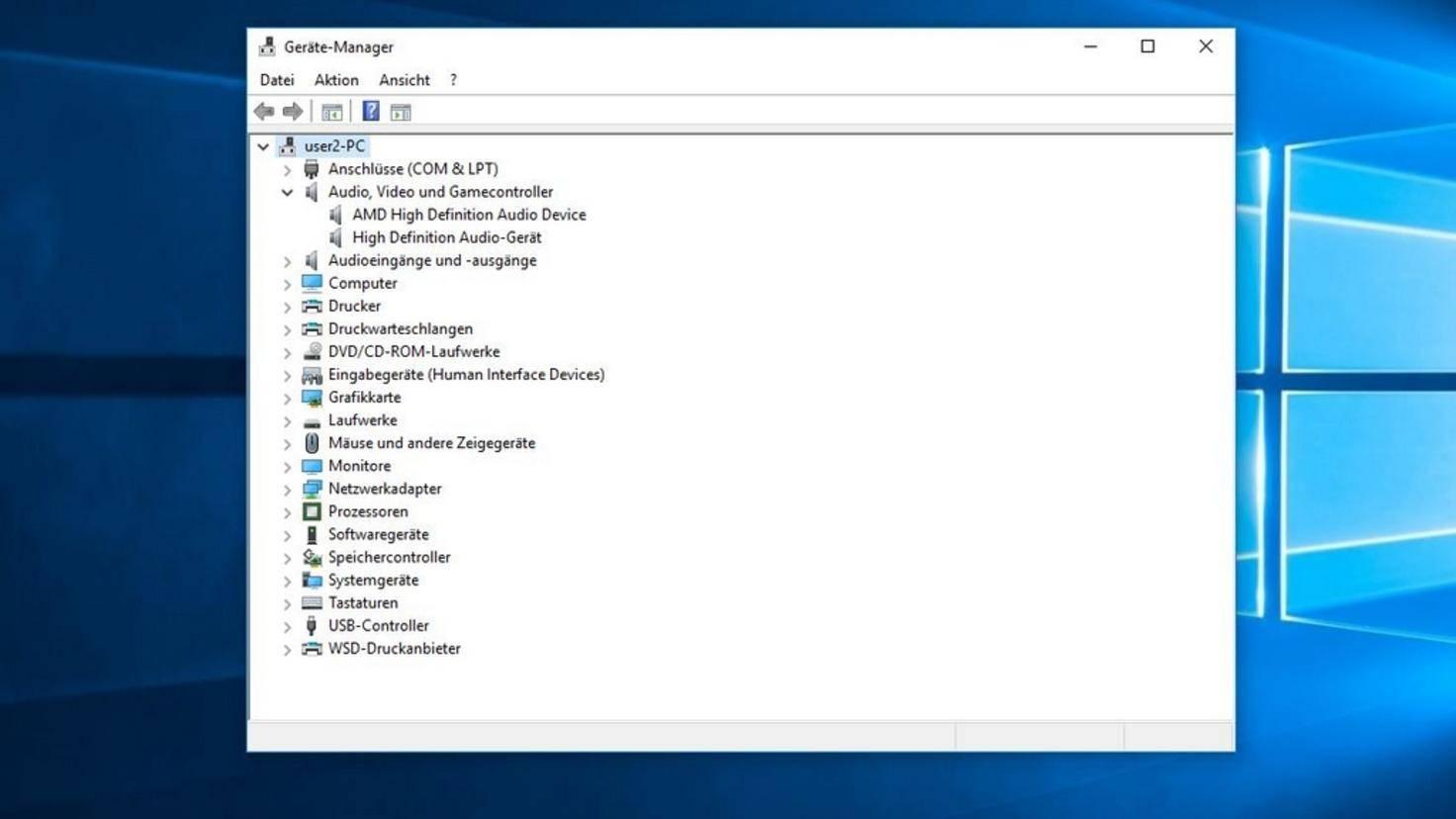 Windows-10-Sound-Treiber