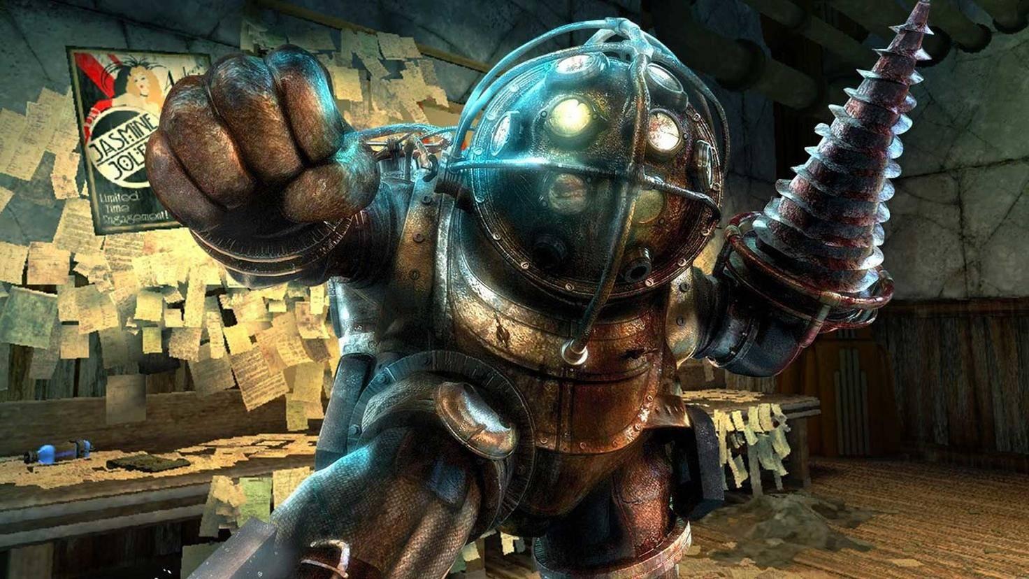"""Wenn Dich ein Gegner in """"BioShock"""" überfällt, zielt er beim ersten Schuss immer daneben."""