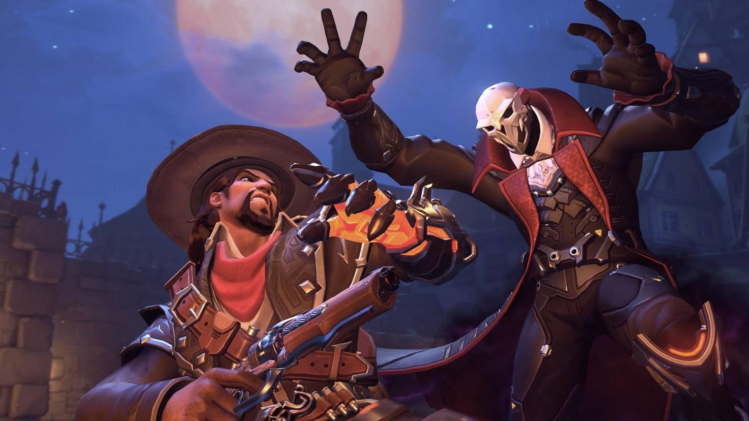 """""""Overwatch""""-Skins wie diese Halloween-Kostüme findest Du in Lootboxen."""