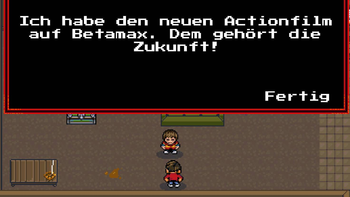 Das Game watet knietief in der Popkultur der Achtziger.