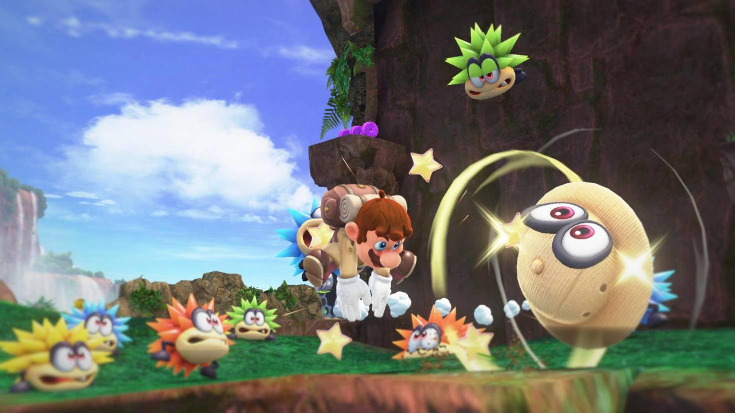 """Mario wird in """"Super Mario Odyssey"""" quasi unsterblich – sehr zum Leidwesen seiner Gegner."""