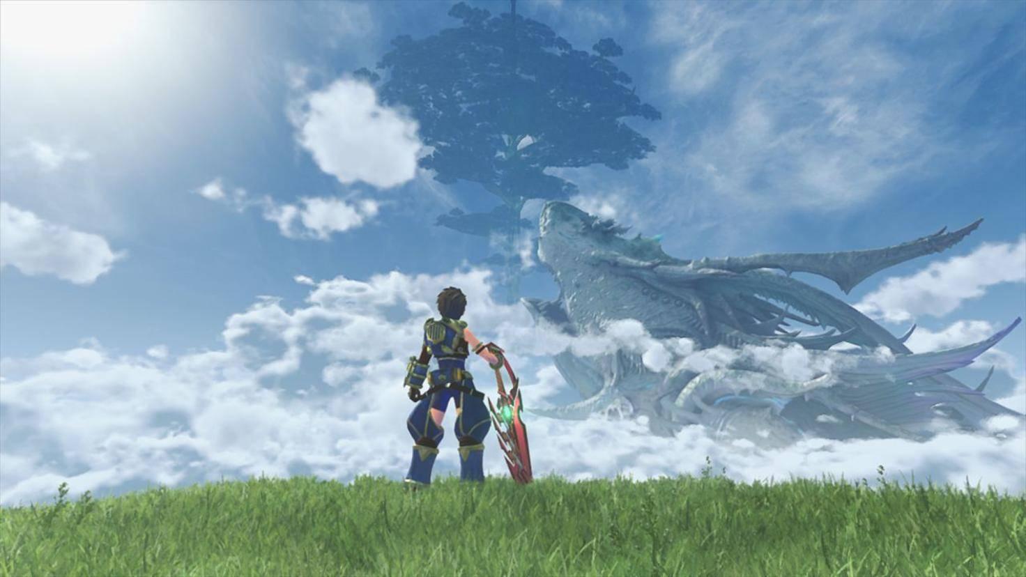 """Dieser Rüstung aus """"Xenoblade Chronicles 2"""" ist das neue Outfit für """"Zelda""""-Held Link nachempfunden."""