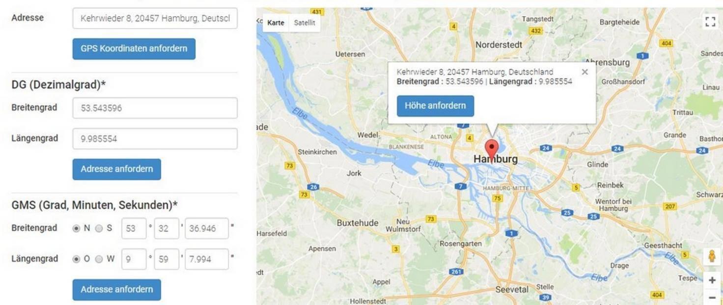 Adresse-Google-Maps-GPS