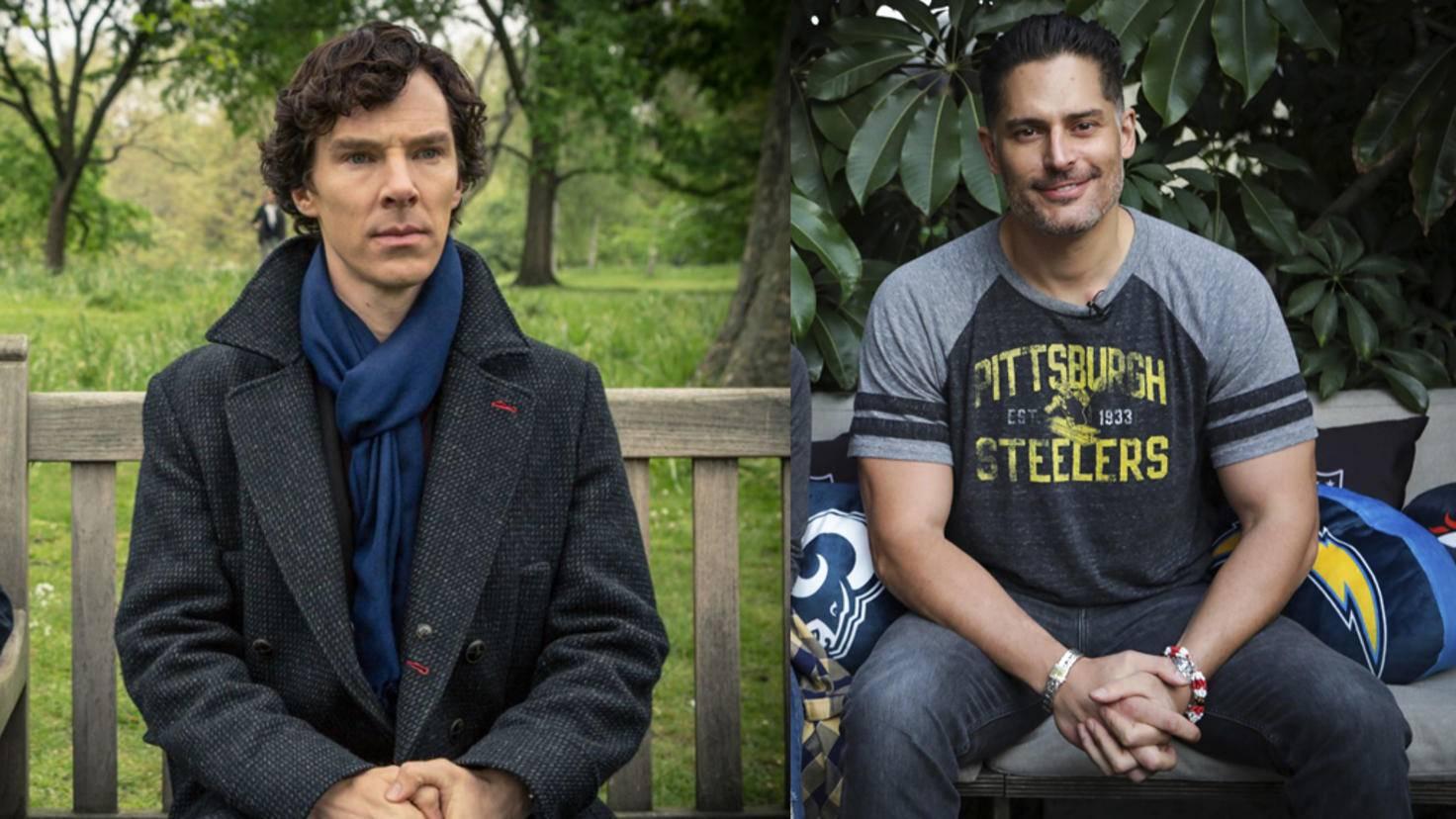 Benedict Cumberbatch und Joe Manganiello