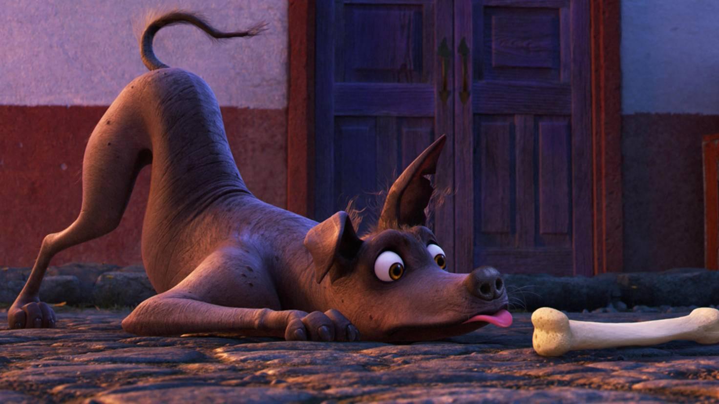 Ein putziger Sidekick darf in einem Disney•Pixar-Film natürlich auch nicht fehlen.
