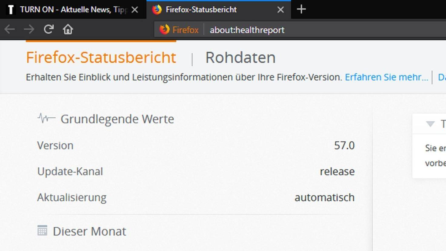 Firefox-57-Health-Report