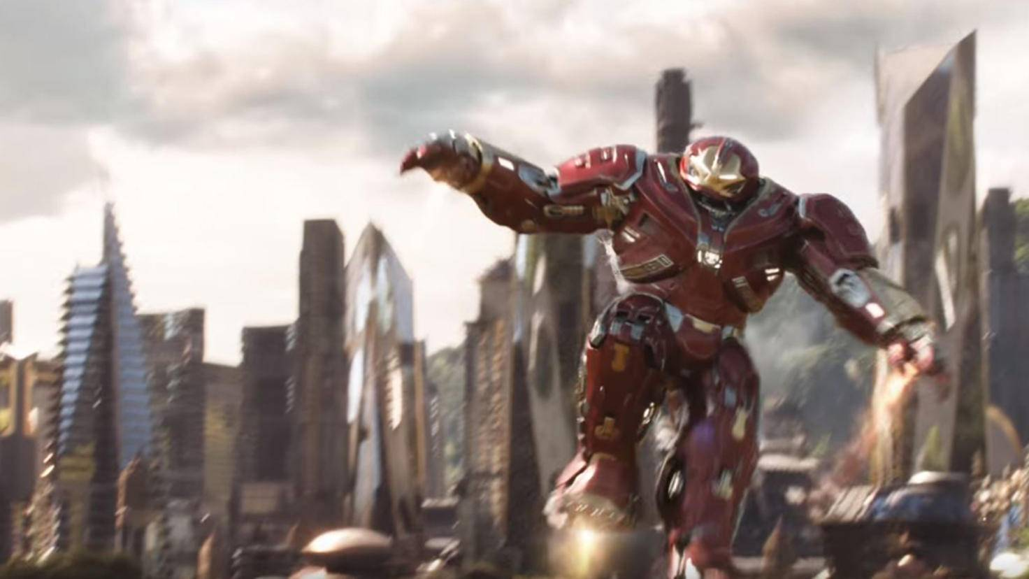 Hulkbuster im Avengers Infinity War Trailer YouTube Marvel Entertainment
