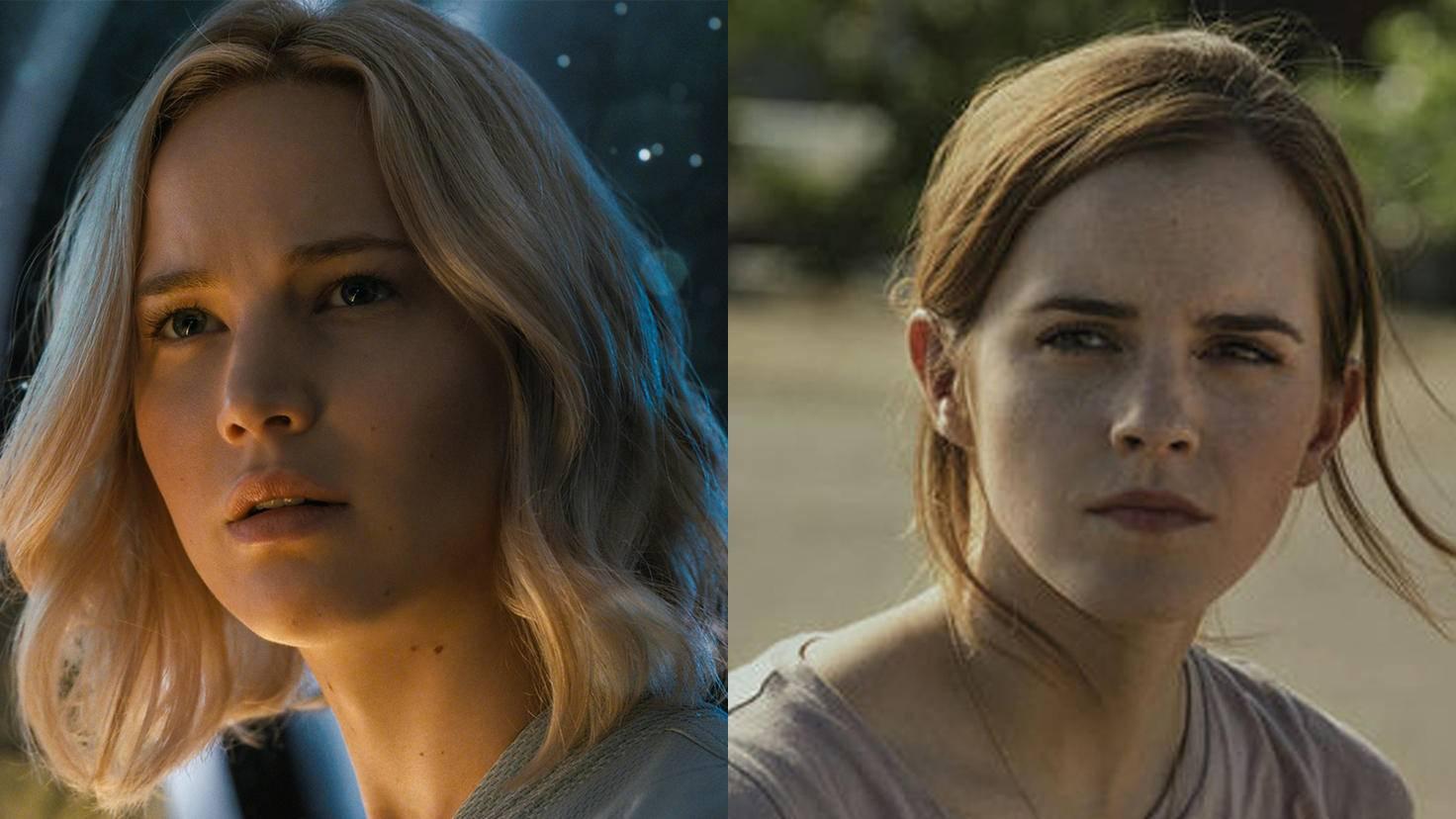 Jennifer Lawrence und Emma Watson