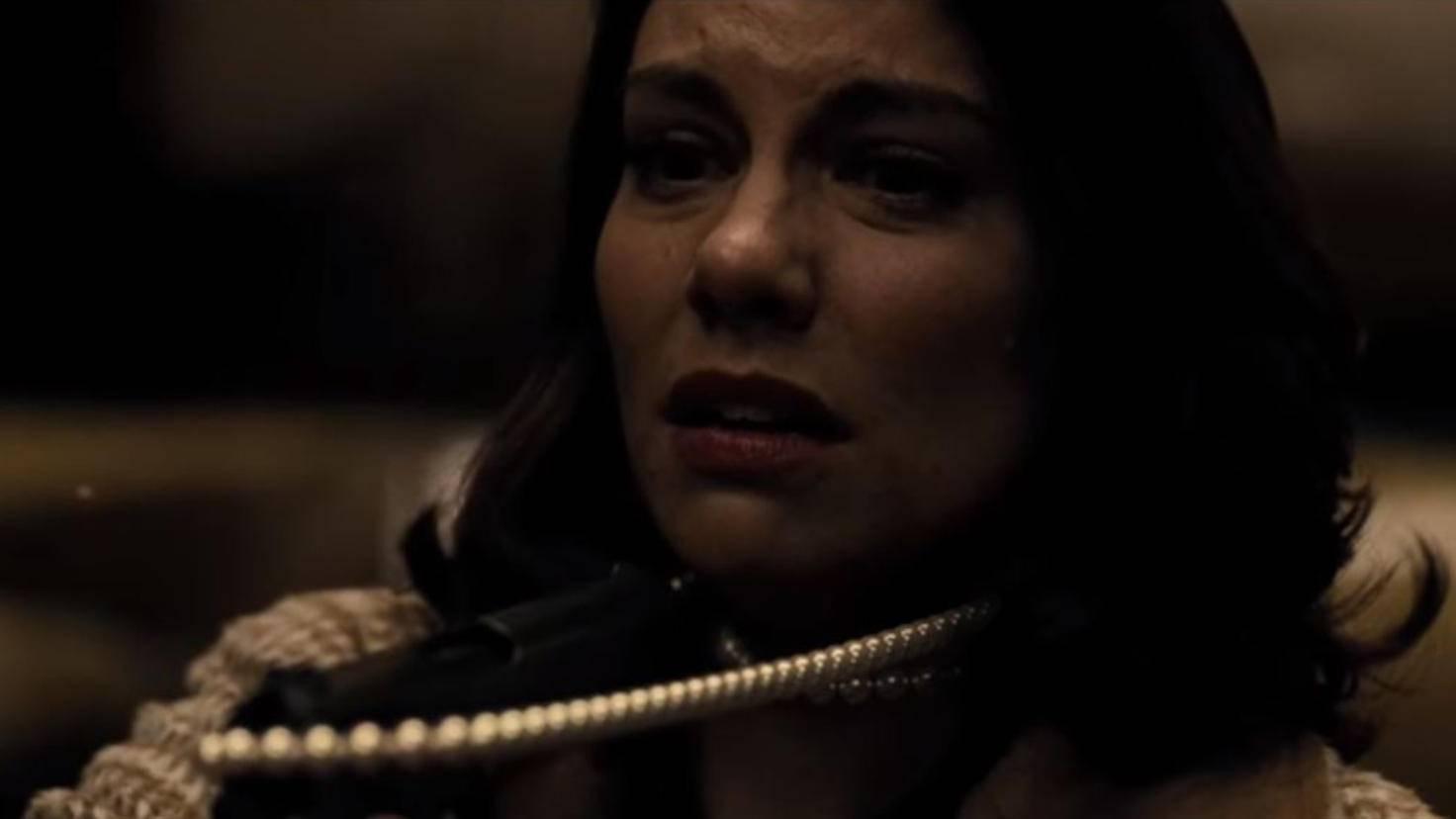 Lauren Cohan als Martha Wayne in Batman v Superman