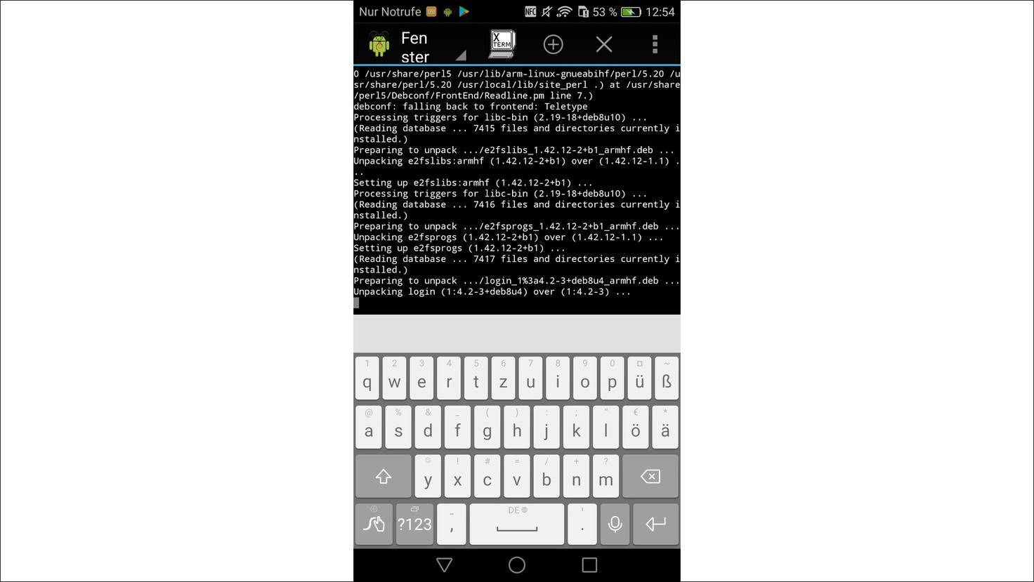 Linux-Android-Debian