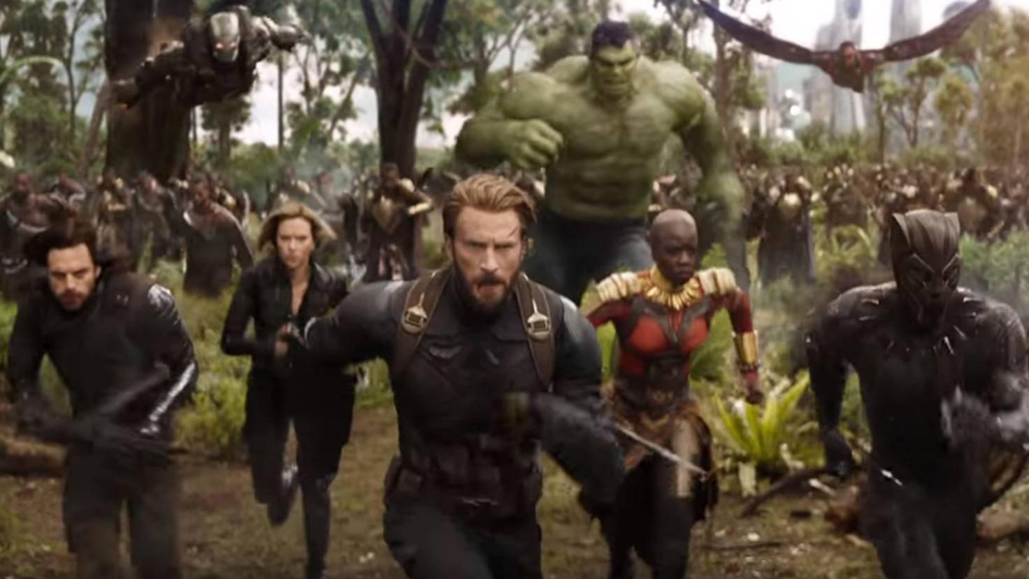 Marvel-Helden im Avengers Infinity War Trailer YouTube Marvel Entertainment