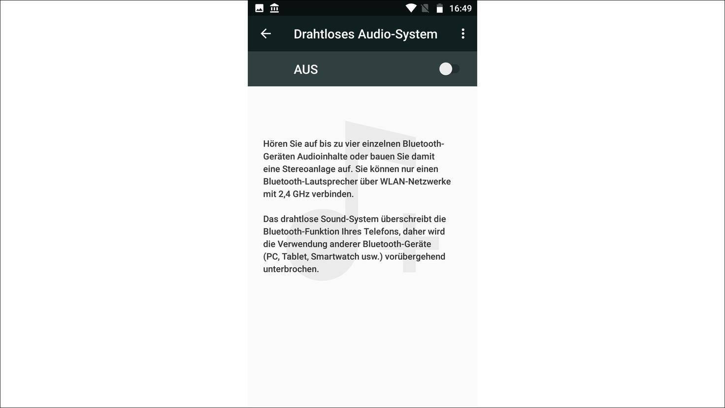 Moto-X4-Drahtloses-Audio-System