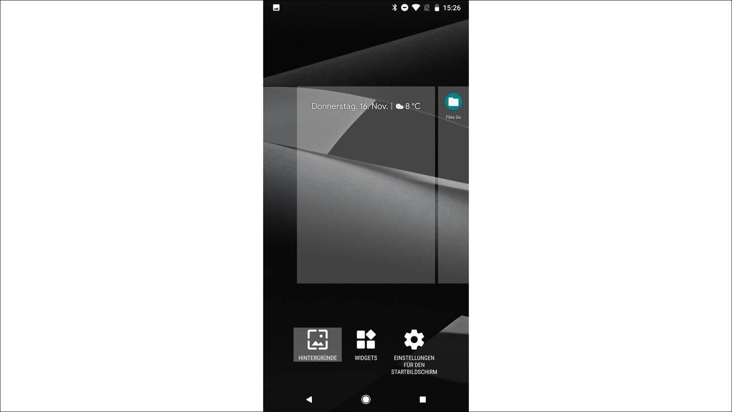 Pixel-2-Geheimmenü