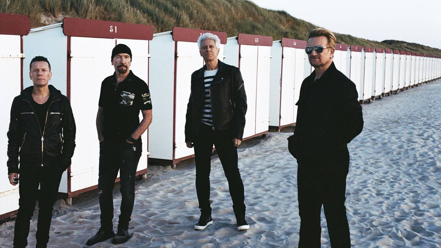 Schon seit 41 Jahren im Geschäft: die Band U2.