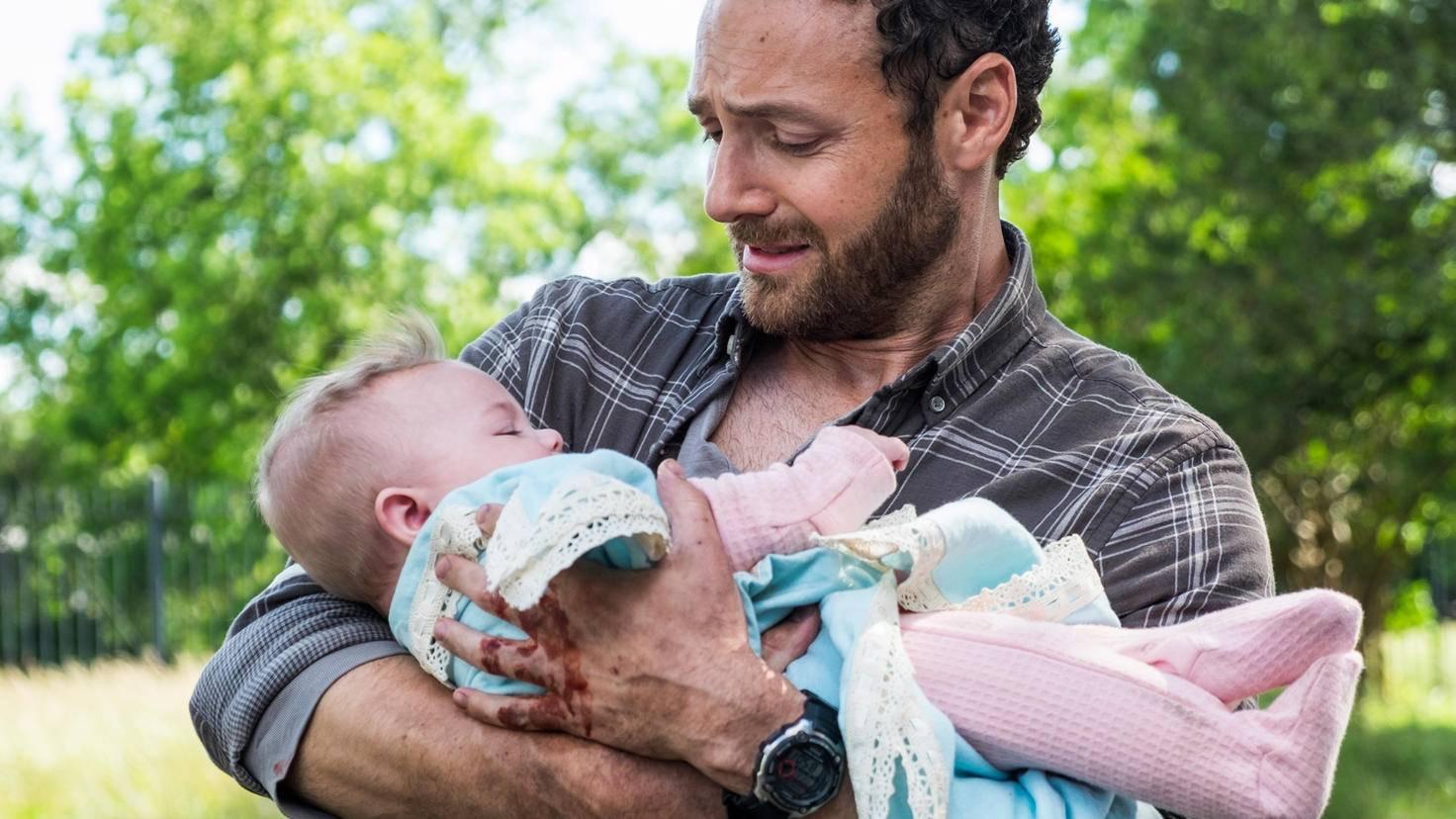 Zwar gibt es in der Zombieapokalypse auch Babies - doch die rasante Zunahme der Zombiezahlen können auch diese Hoffnungsbringer nicht verhindern.