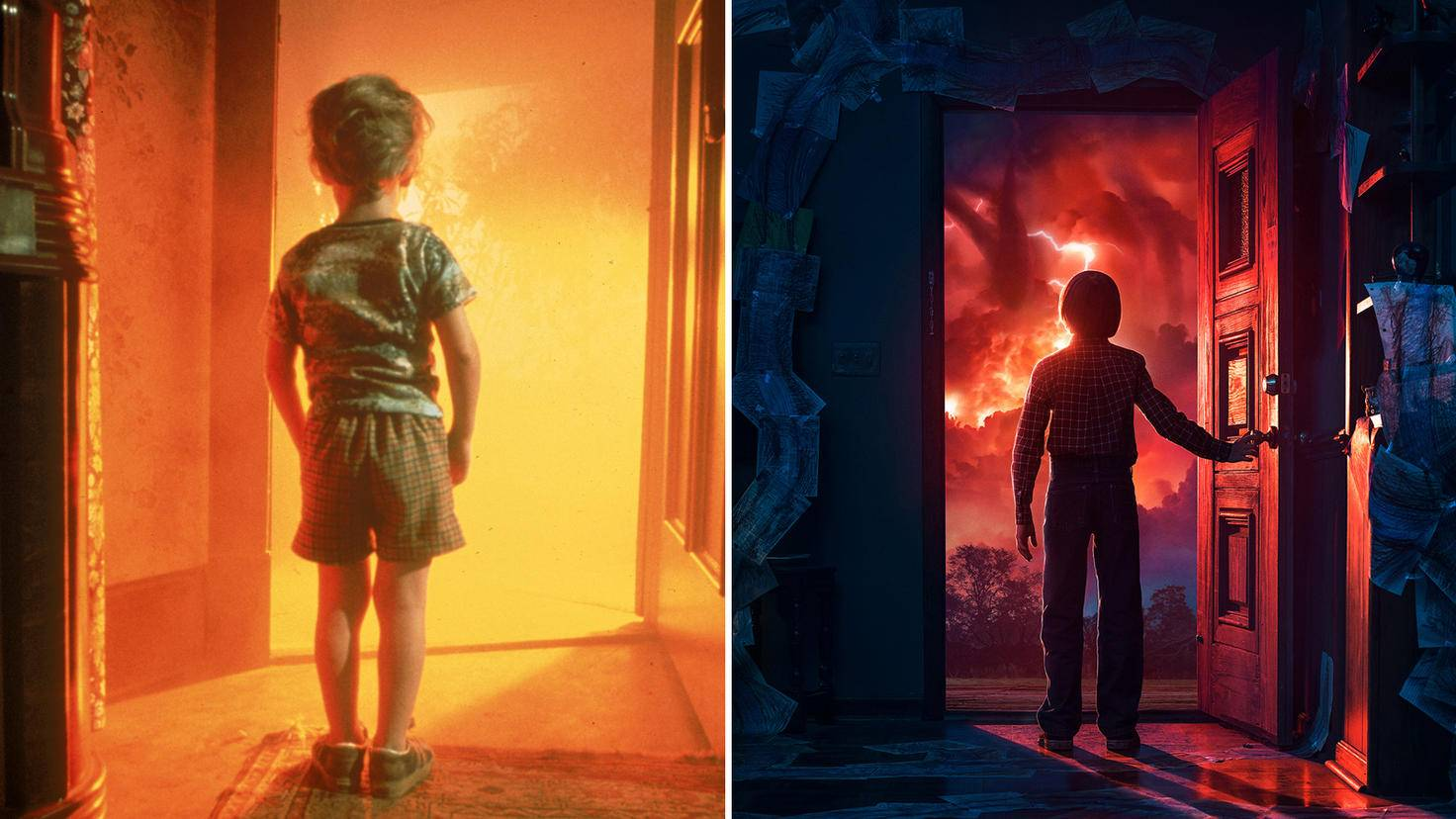 """""""Unheimliche Begegnung der dritten Art"""" vs. """"Stranger Things"""": Die Ähnlichkeit der Szenen ist verblüffend."""