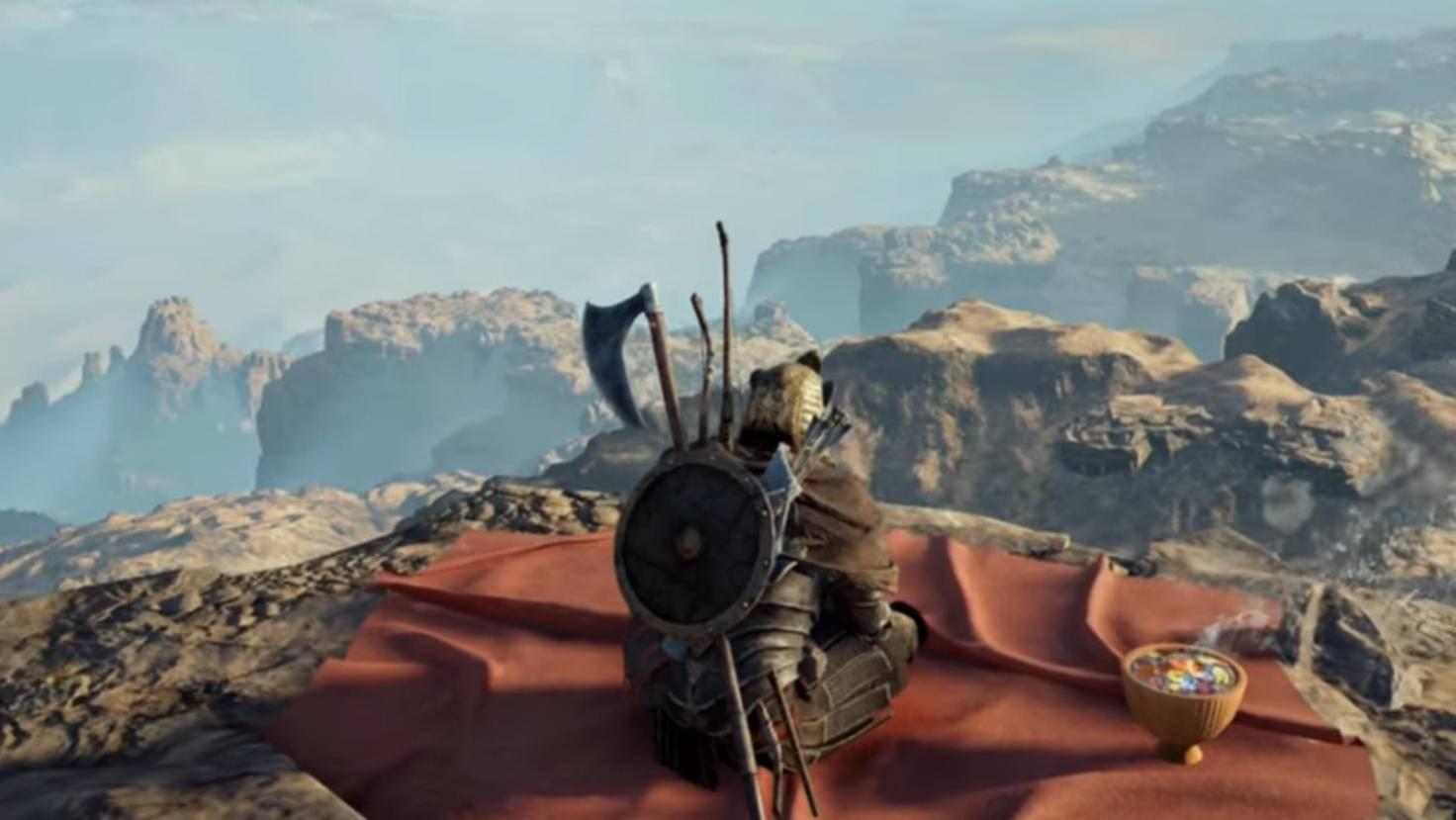 In der Schwarzen Wüste entschädigt ein atemberaubender Ausblick für die Klettertour zum Eremiten-Schauplatz.
