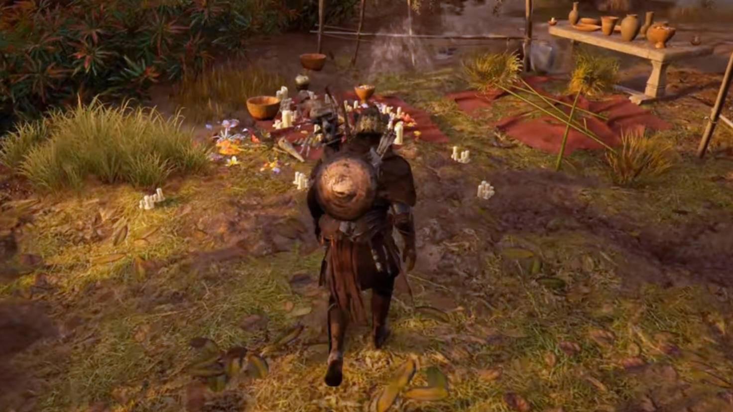 Schon besetzt: Auf der Decke in Nomos Herakleion liegt ein Toter. Macht aber nichts.