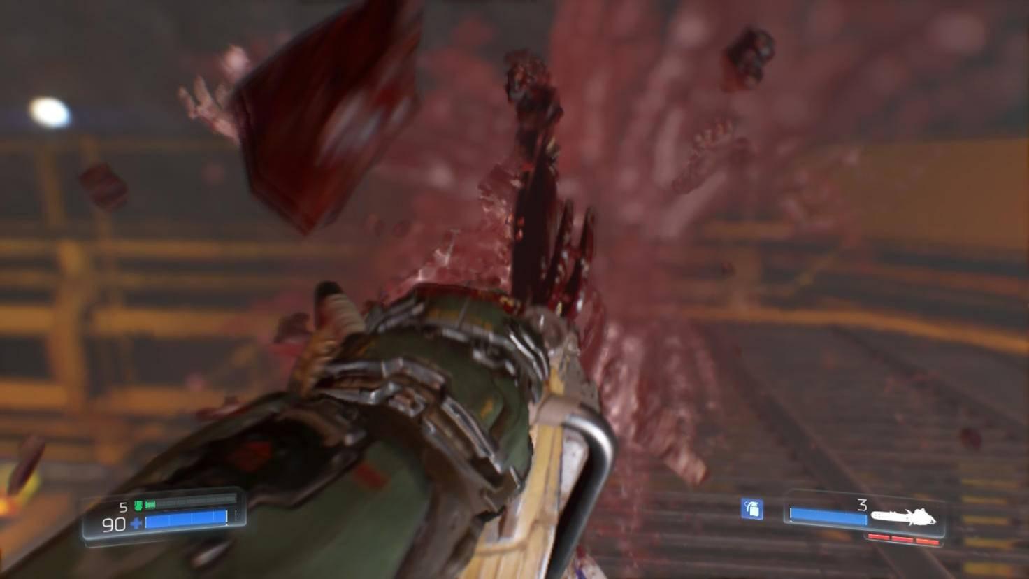 """Die Glory Kills von """"Doom"""" sind in ihrer ganzen Blutigkeit auf der Switch gelandet."""