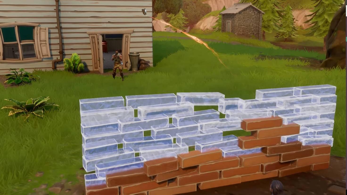 Taktik für kühle Köpfe: Mauer hochziehen, Granate drüberwerfen.