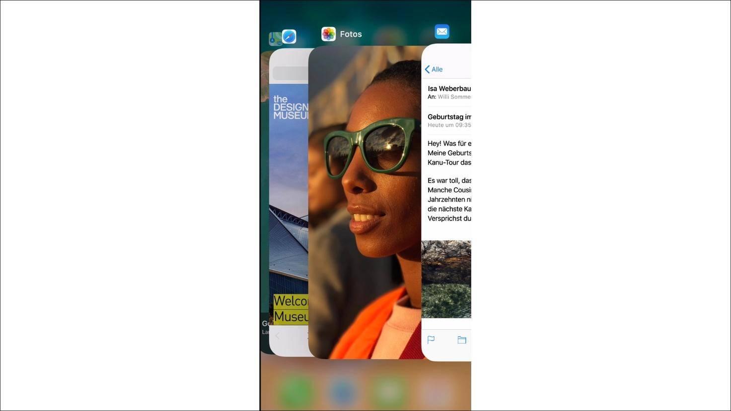 iPhone-X-Multitasking