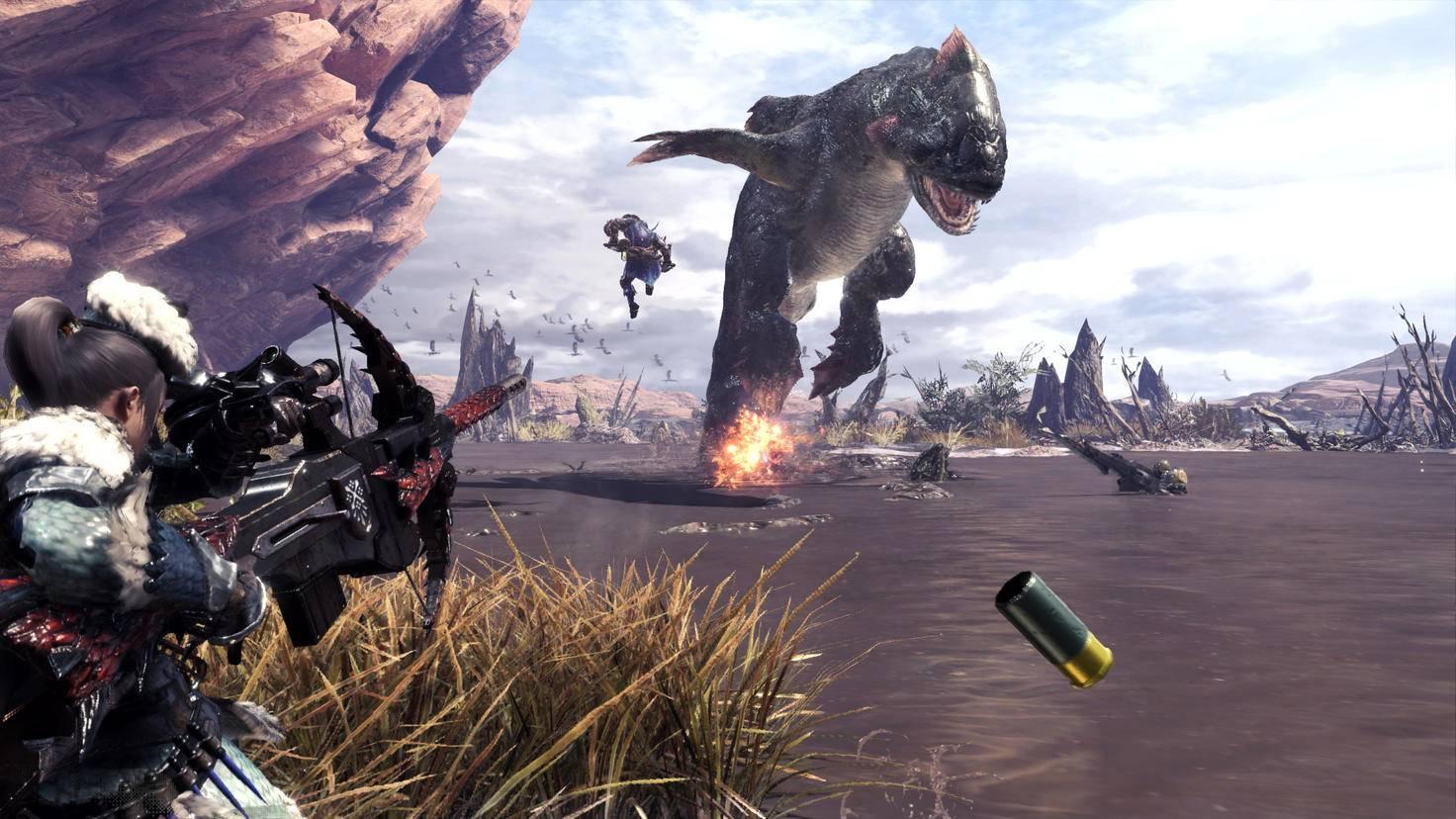 """Die Fernkampf-Steuerung in """"Monster Hunter World"""" ist etwas umständlicher als nötig."""