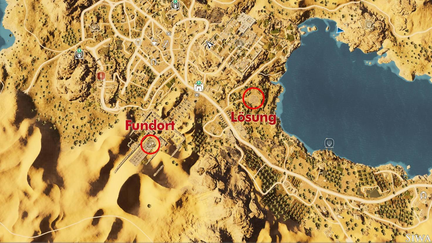 "Papyrusrätsel 1 in ""Assassin's Creed: Origins"""