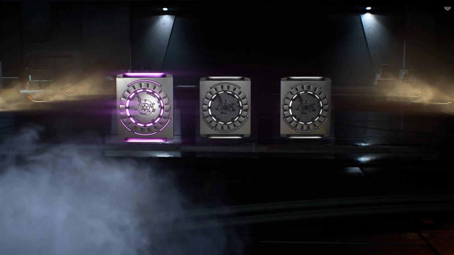 Hinter violettem Licht verbergen sich epische Sternkarten. Die sind allerdings eher selten.