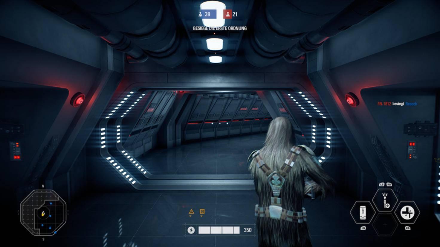 """Auch in die Rolle bekannter """"Star Wars""""-Helden darf ich schlüpfen."""