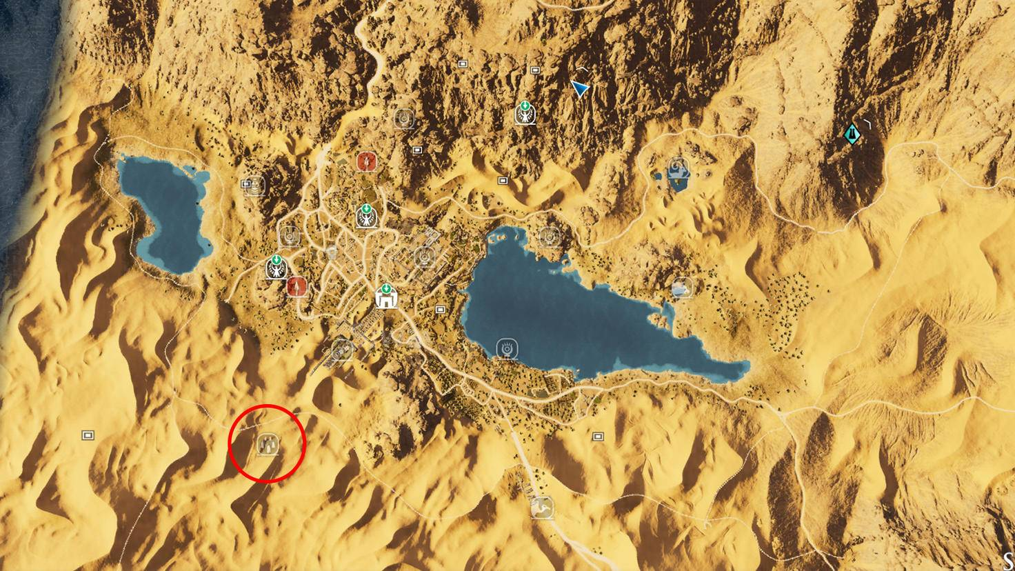 Assassin's Creed: Origins - Steinkreis Amun