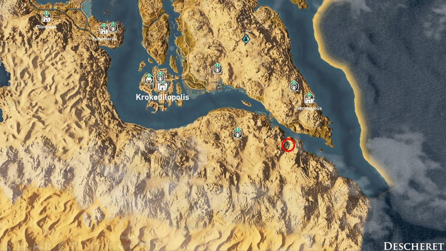 Assassin's Creed: Origins - Steinkreis des Chonsu