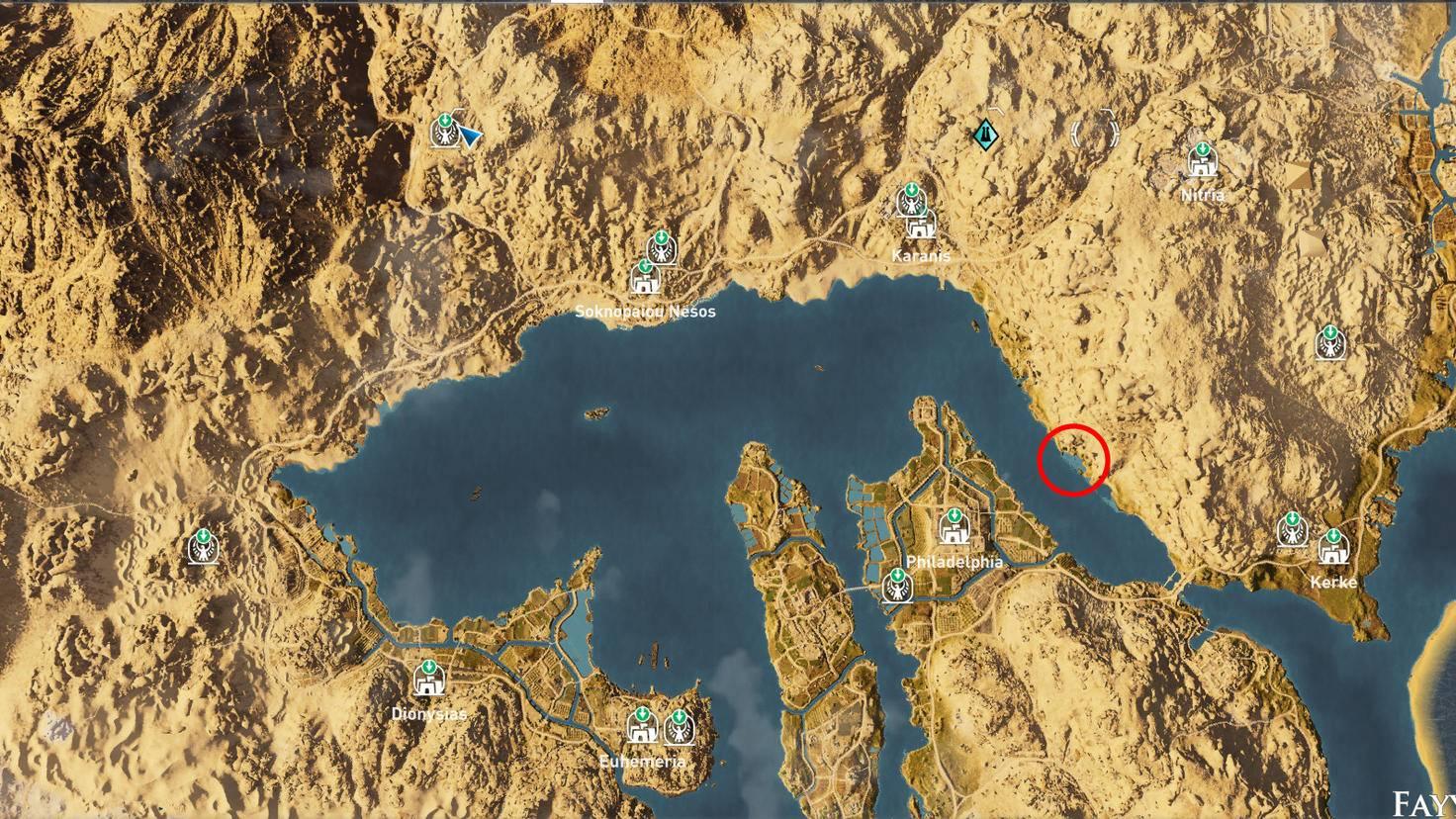Assassin's Creed: Origins - Steinkreis der Fische
