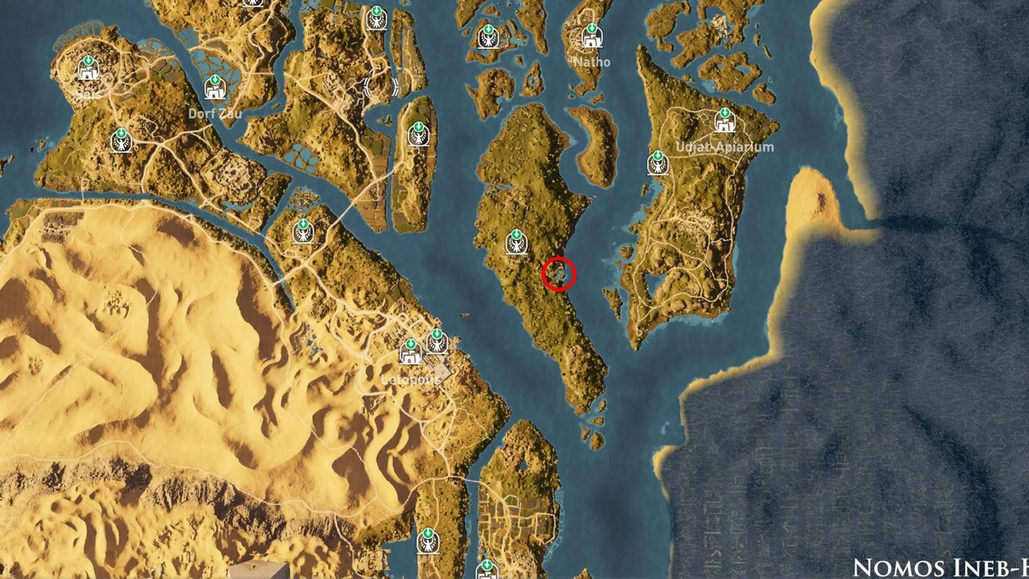Assassin's Creed: Origins - Steinkreis Hathor