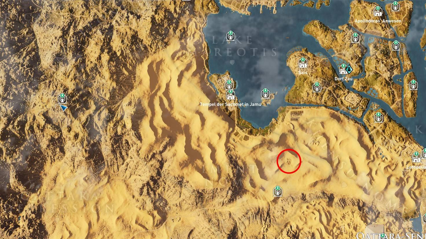 Assassin's Creed: Origins - Steinkreis Löwin