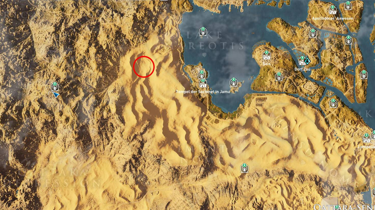 Assassin's Creed: Origins - Steinkreis Selket