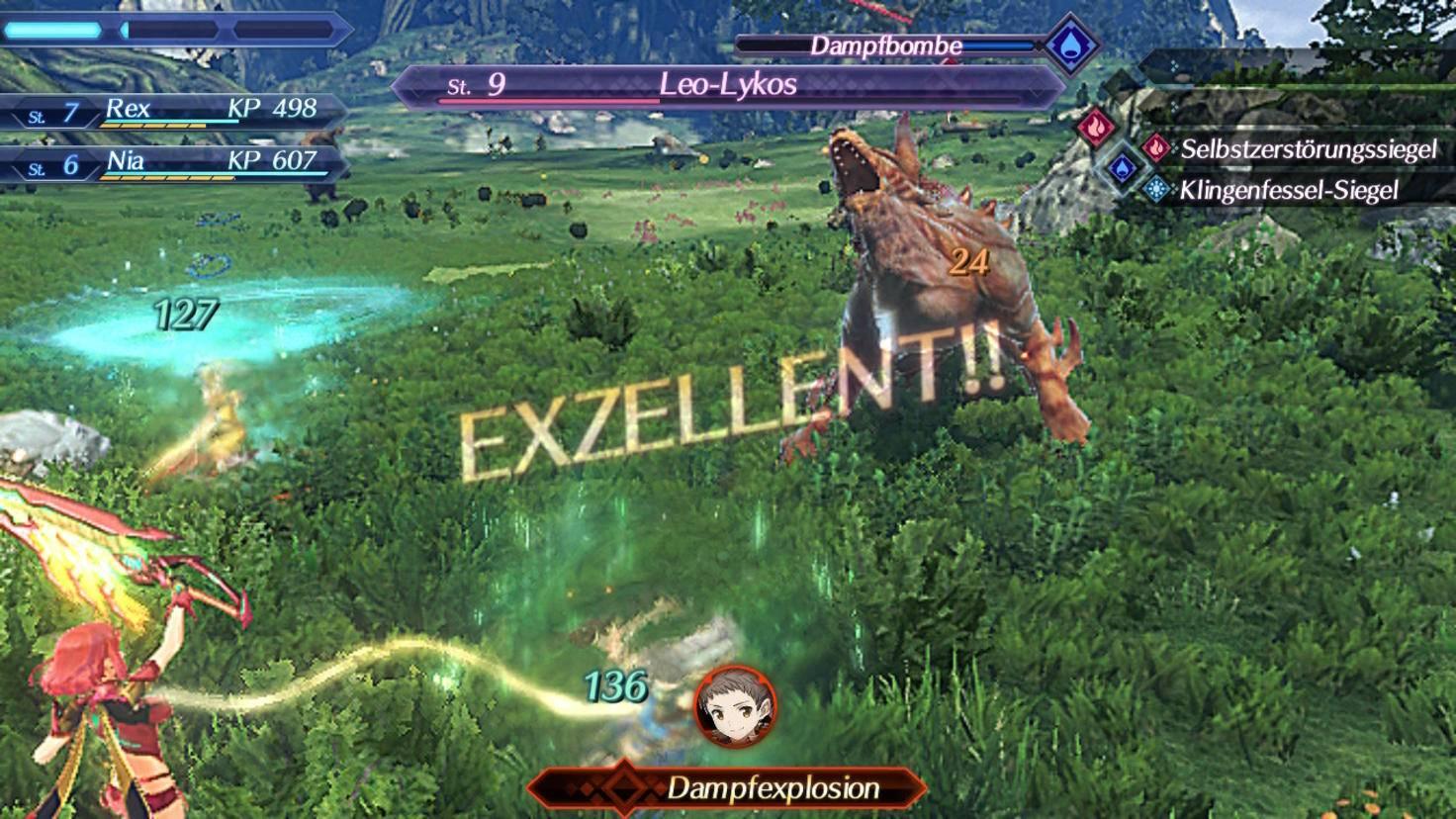 """Ein tadellos ausgeführter Klingenangriff wird in """"Xenoblade Chronicles 2"""" belohnt und gelobt."""