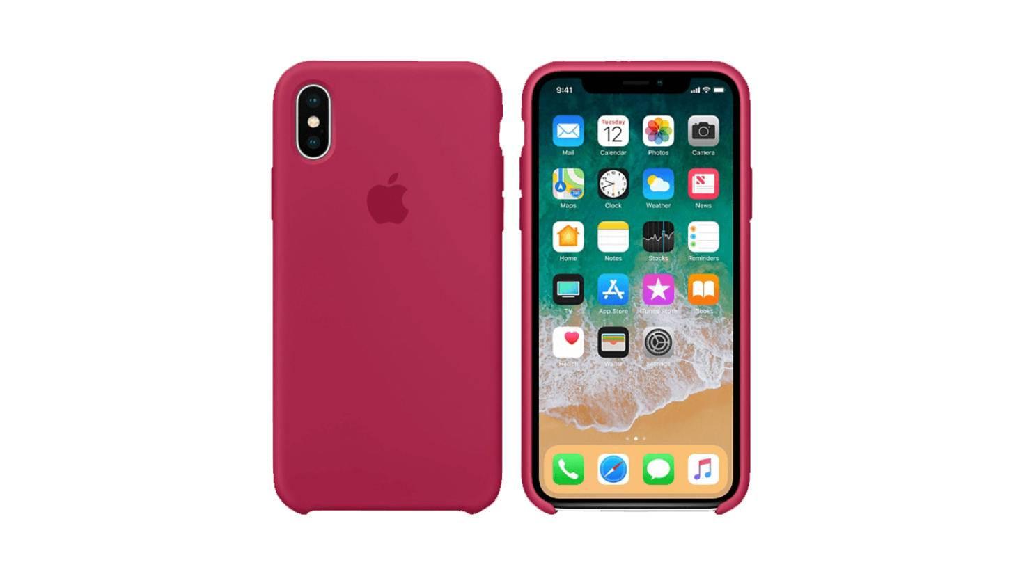 Apple Silikon Case iPhone X