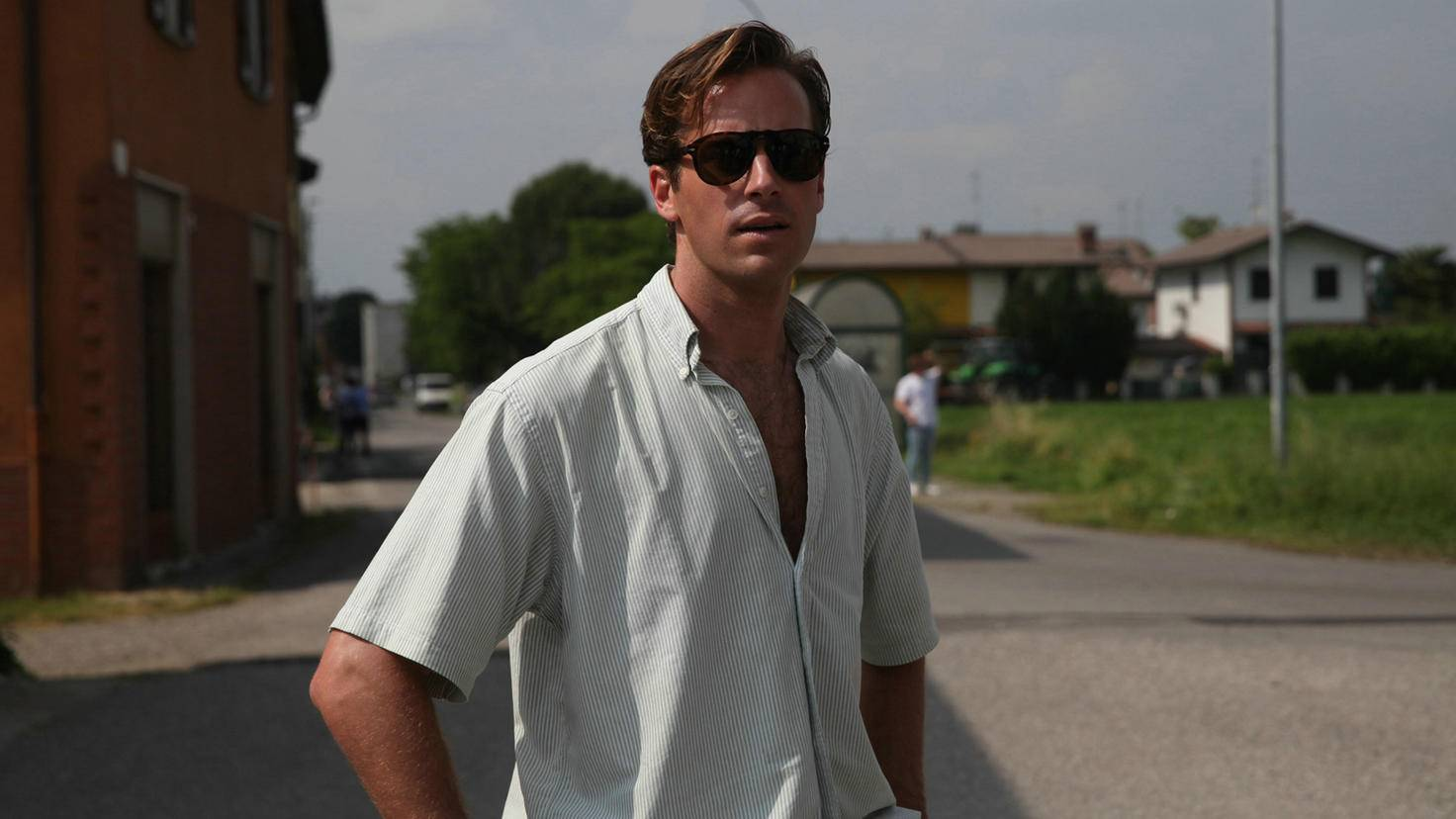 "Armie Hammer als Oliver in ""Call me by your Name"""
