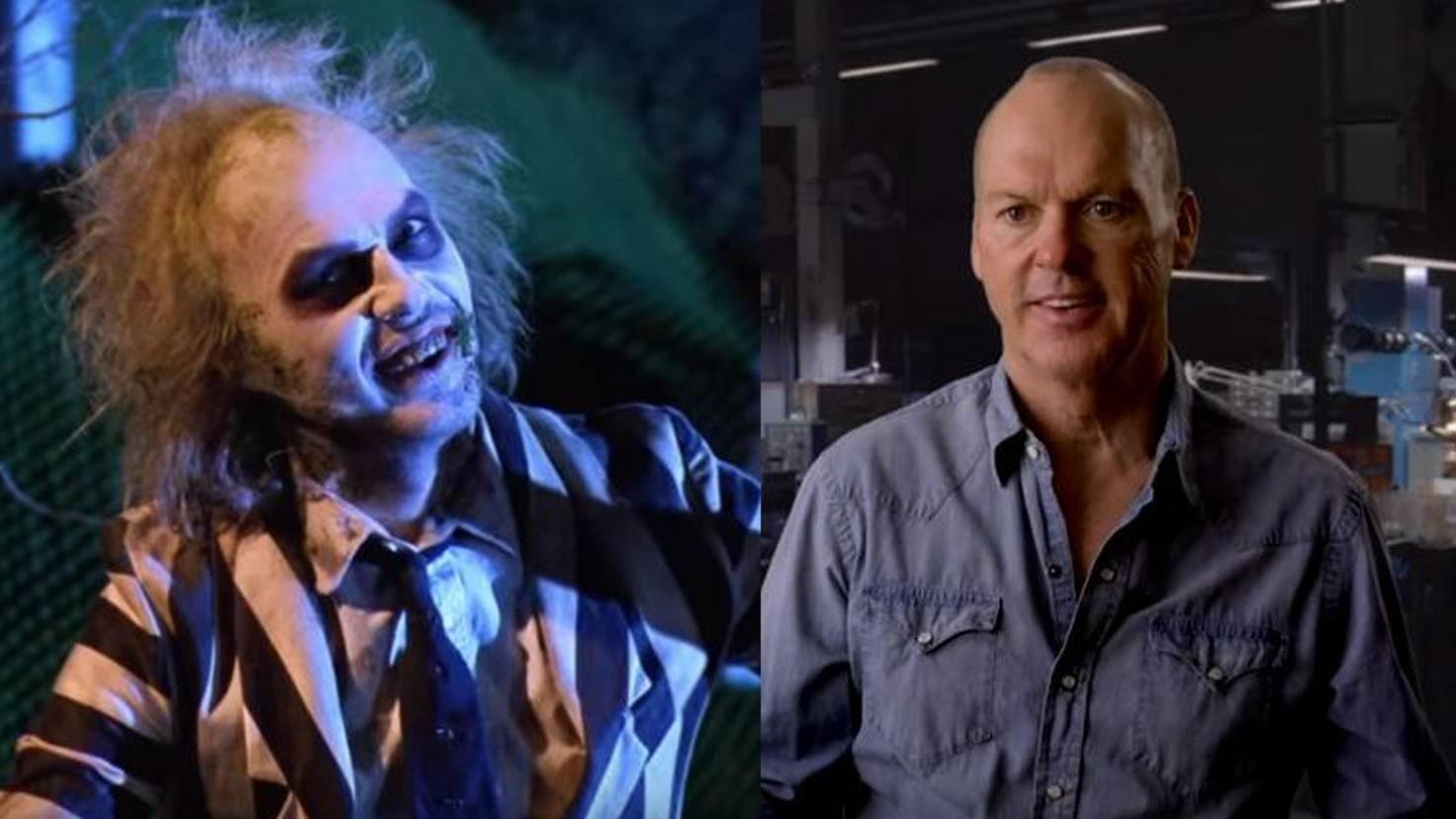Beetlejuice-Michael Keaton-YouTube-Movieclips-Spider-Man Homecoming-Michael Keaton-YouTube-FilmIsNow Movie Bloopers und Extras