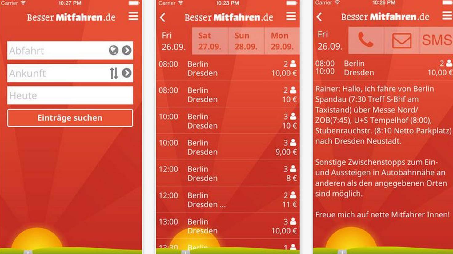 Bessermitfahren-iTunes-Columbus Internet GmbH