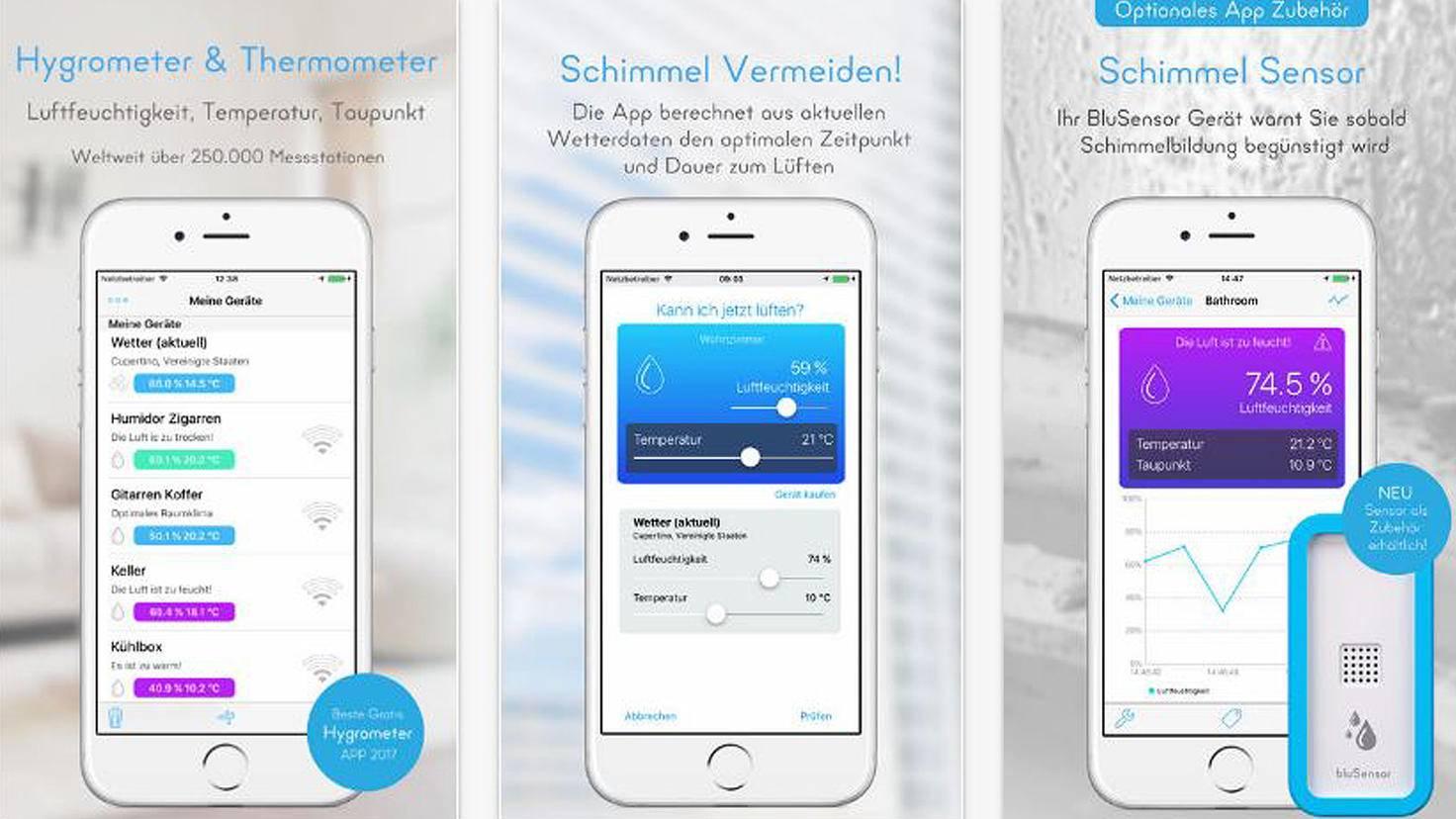 BluSensor AIR - Hygrometer-iTunes-Almendo Technologies GmbH