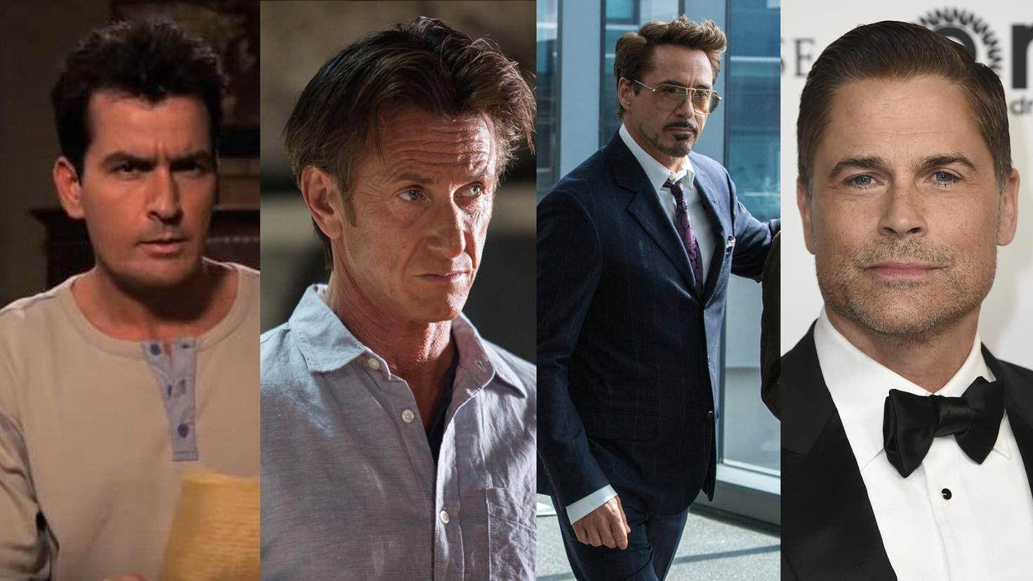 Charlie Sheen-Two and a Half Men-YouTube-Serien Intros Highlights-TheGunman-Sean Penn-Studiocanal-Spider-Man-Homecoming-Robert Downey Jr-Sony Pictures-Rob Lowe-picture alliance-AP Images-89325554