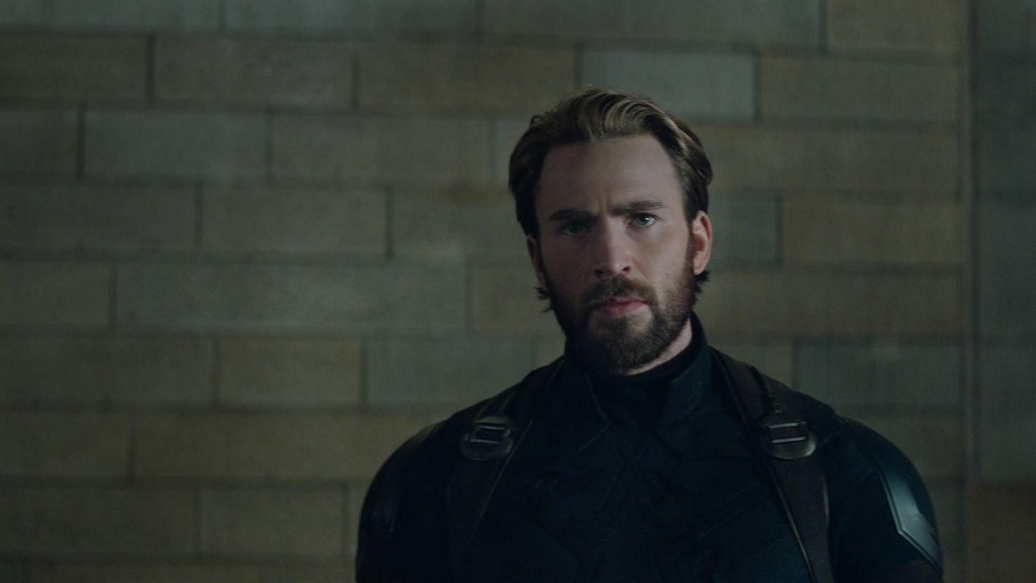 Chris Evans als Captain America in Avengers: Infinity War