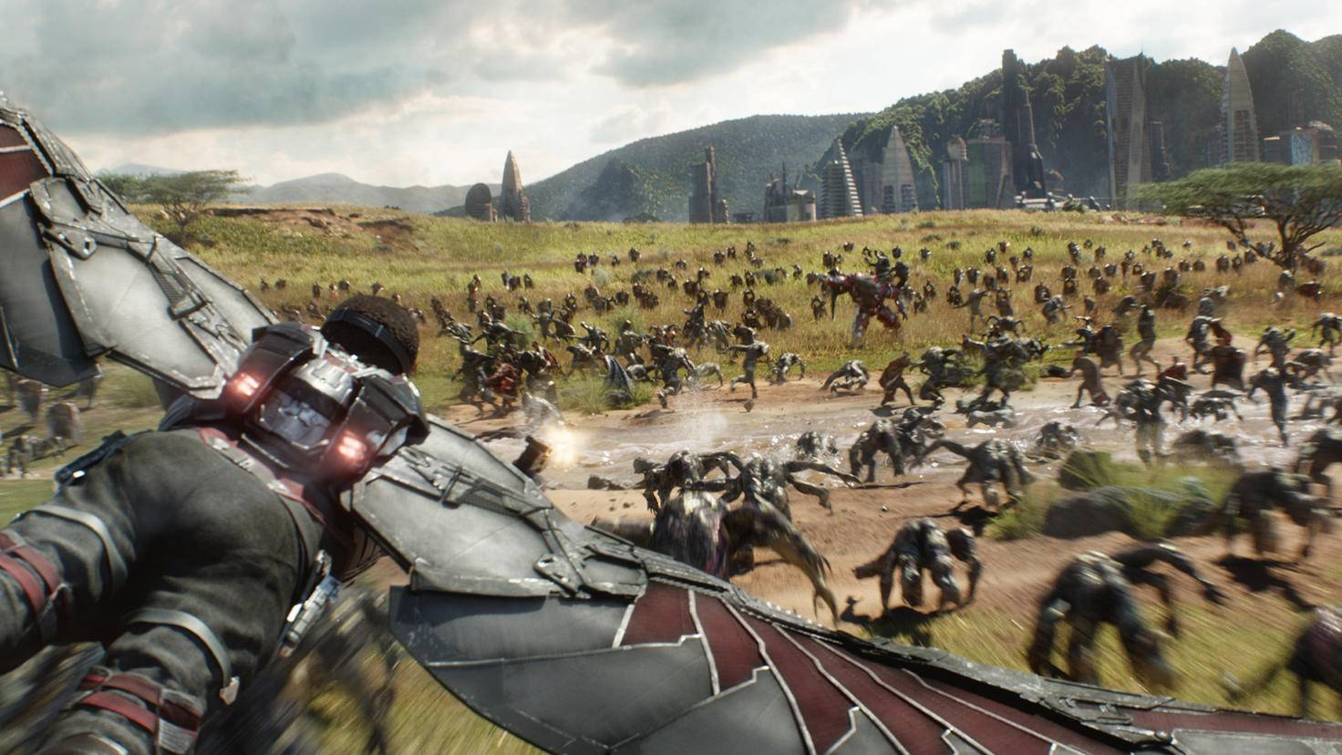 Falcon in Avengers: Infinity War